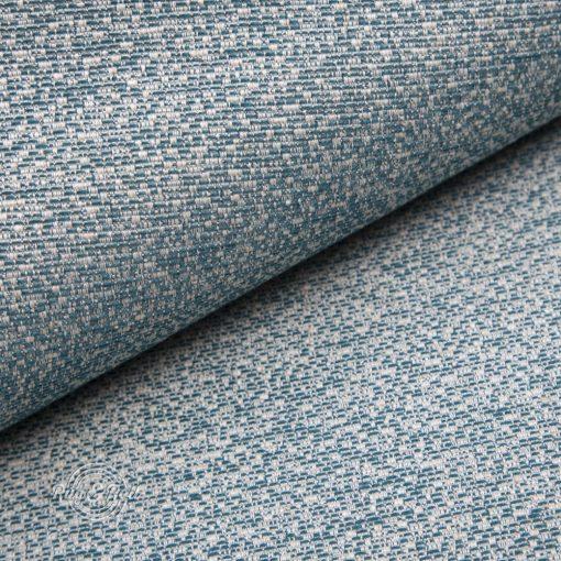 LINO 5 - türkizzöld, környezetbarát bútorszövet, 10% lentartalommal, természetes anyagokból