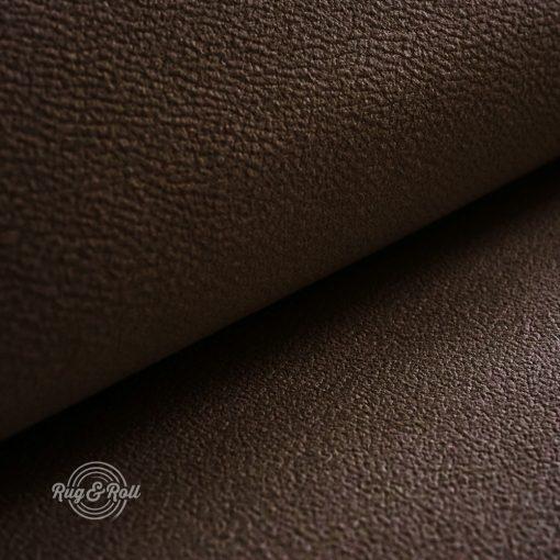 MITEZZA 5 - sötétbarna, puha tapintású, velúros felületű textilbőr