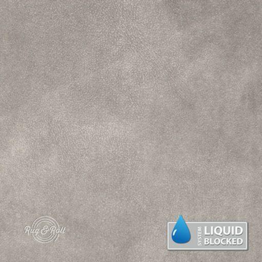 MINDELO 2 - könnyen tisztítható, velúrhatású, vízlepergető bútorszövet, világos bézsesszürke