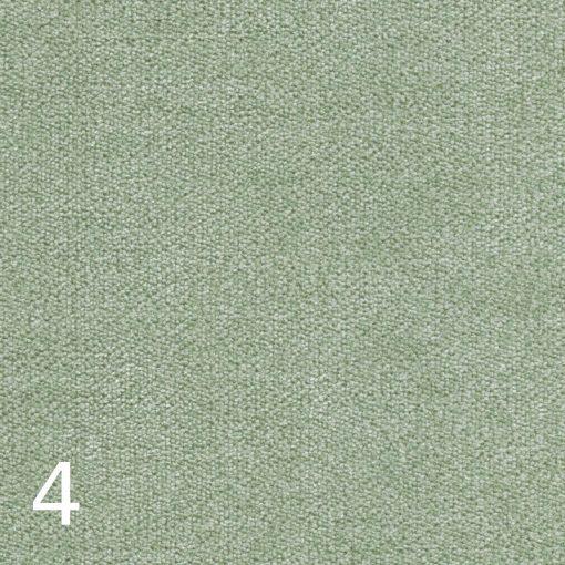 ALFA 4 - halványzöld, puha felületű, magas kopásállóságú  bútorszövet