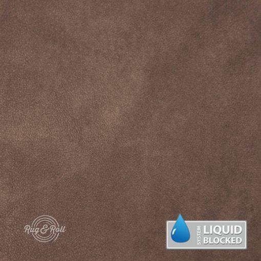 MINDELO 4 - világosbarna, könnyen tisztítható, velúrhatású, vízlepergető bútorszövet