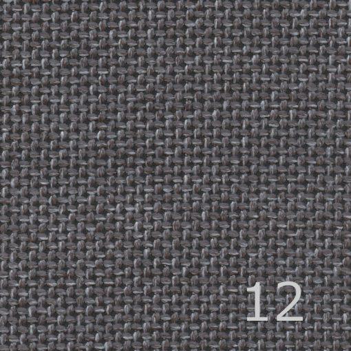 OLIMPIC - 12 - szürke - világosszürke, magas kopásállóságú, zsákszövet anyagú bútorszövet