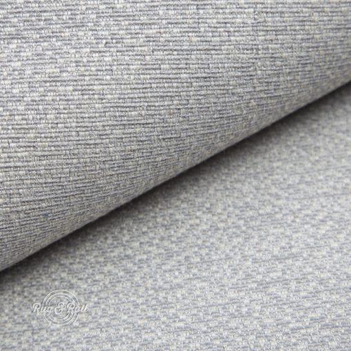 LINO 2 - világosszürke, környezetbarát bútorszövet, 10% lentartalommal, természetes anyagokból