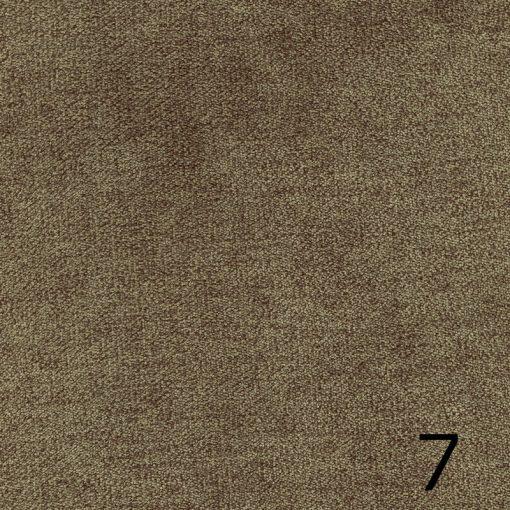 ALFA 7 - szürkésbarna, puha felületű, magas kopásállóságú  bútorszövet