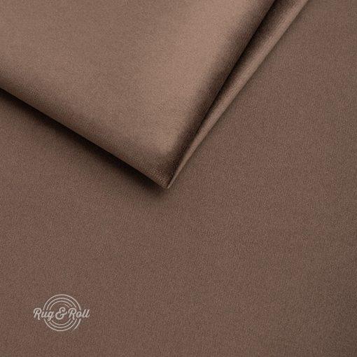 AMOR VELVET 4301 - barna, vízlepregető prémium bútorszövet