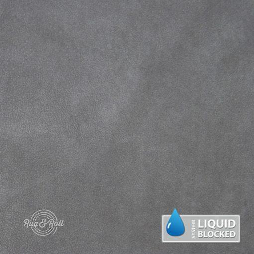 MINDELO 12 - világosszürke, könnyen tisztítható, velúrhatású, vízlepergető bútorszövet