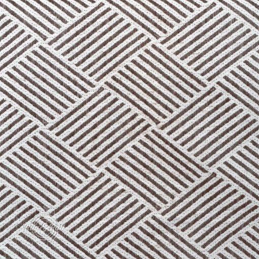 MODELLO 6 - barna, mintás, környezetbarát bútorszövet