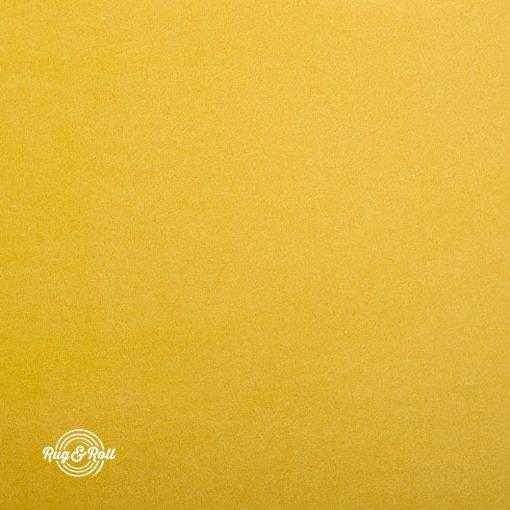 SUPER 257 - citromsárga, vízzel tisztítható prémium bársony bútorszövet