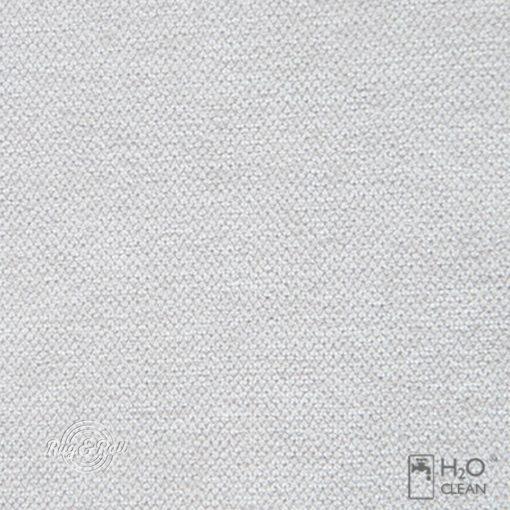 LIBERTO 1 - törtfehér, vízzel tisztítható bútorszövet
