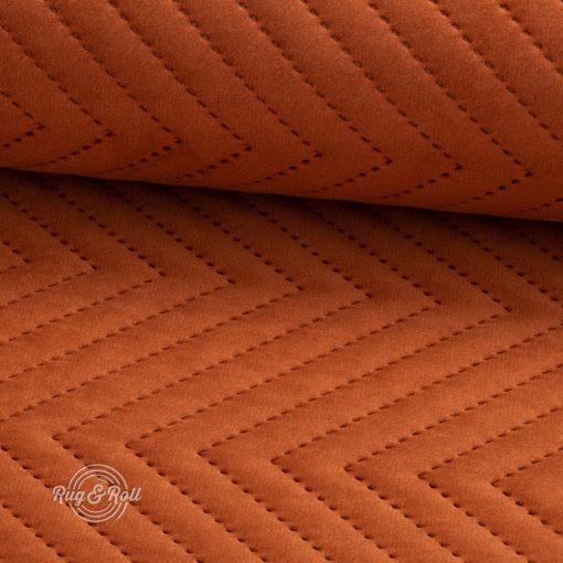 AMOR PIK 4305 - konyak, nyomott mintás, vízlepregető prémium bútorszövet