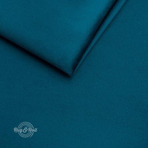 AMOR VELVET 4313 - petrolkék, vízlepregető prémium bútorszövet