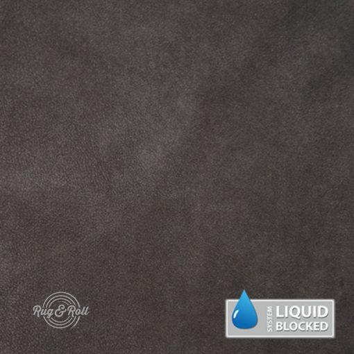 MINDELO 14 - sötét szürkésbarna, könnyen tisztítható, velúrhatású, vízlepergető bútorszövet