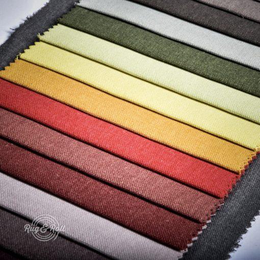 RESPIRO égéskésleltett tulajdonságú, könnyű szerkezetű bútorszövet, 32 színben