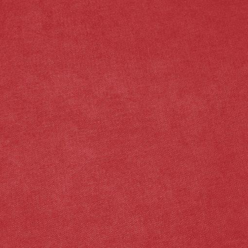 ROSTO 60 - piros, puha tapintású síkszövet