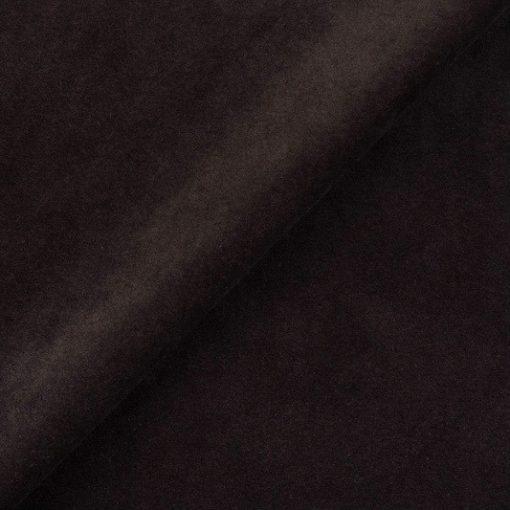 Salvador 19 - fekete, könnyen tisztítható, prémium bársony bútorszövet