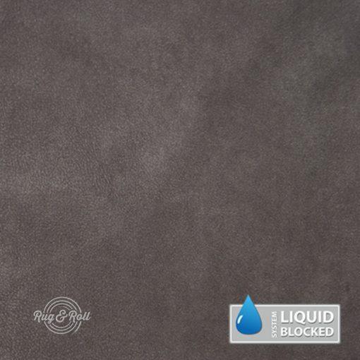 MINDELO 13 - szürkésbarna, könnyen tisztítható, velúrhatású, vízlepergető bútorszövet