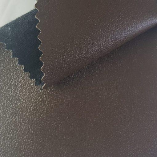 Non Plus 325-barna, extrém kopásállóságú, fertőtleníthető, színes prémium textilbőr