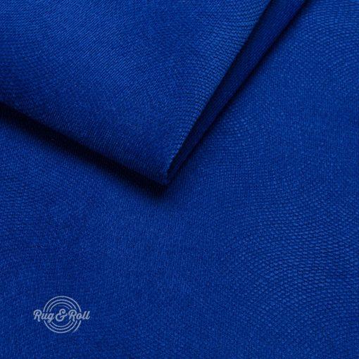 LOCA 18 kék, nyomott mintás vízzel tisztítható bútorszövet