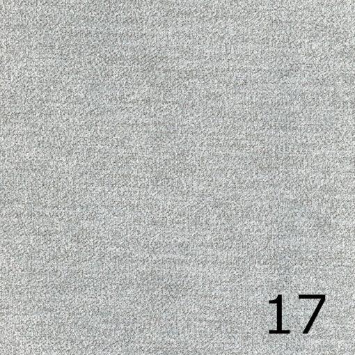 ALFA 17 - világosszürke, puha felületű, magas kopásállóságú  bútorszövet
