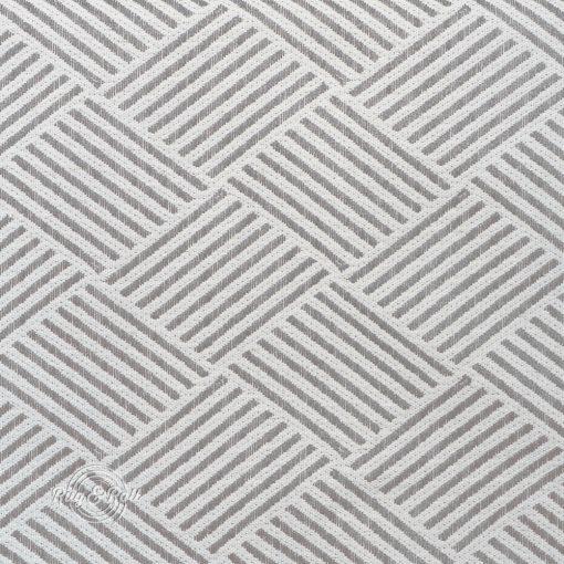 MODELLO 2 - szürke, mintás, környezetbarát bútorszövet