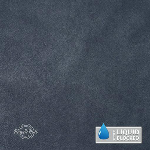 MINDELO 11 -  kék, könnyen tisztítható, velúrhatású, vízlepergető bútorszövet