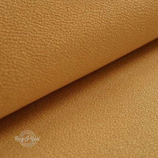 MITEZZA 12 - sárga,  puha tapintású, velúros felületű textilbőr
