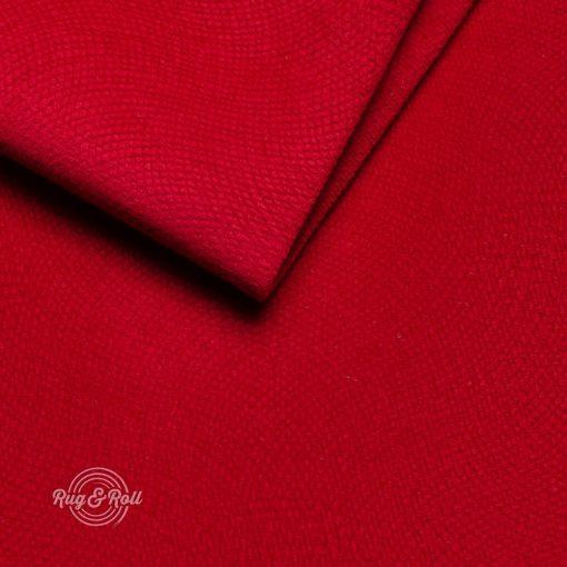 LOCA 8 - piros, nyomott mintás vízzel tisztítható bútorszövet