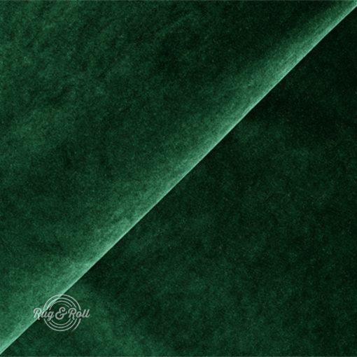 Salvador 7 - sötétzöld, könnyen tisztítható, prémium bársony bútorszövet