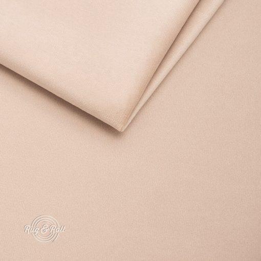AMOR VELVET 4304 - világos bézs, vízlepregető prémium bútorszövet