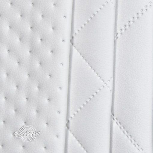 PIK 02 - nagykockás, steppelt, textilbőr bútorszövet, 2 színben
