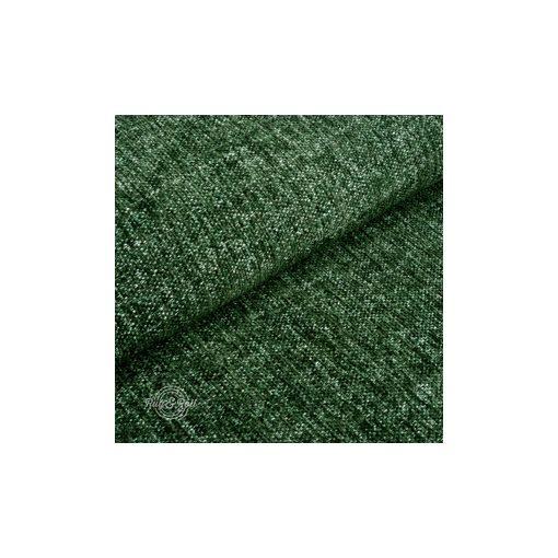 Tessero 14 - zöld, zseníliás felületű, puha kellemes tapintású bútorszövet