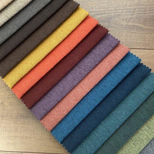 LOOK modern, könnyen tisztítható, strapabíró bútorszövet, 24 színben