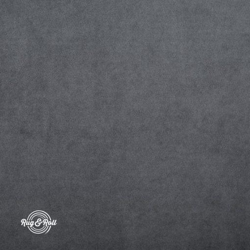 SUPER 267 - acélszürke, vízzel tisztítható prémium bársony bútorszövet
