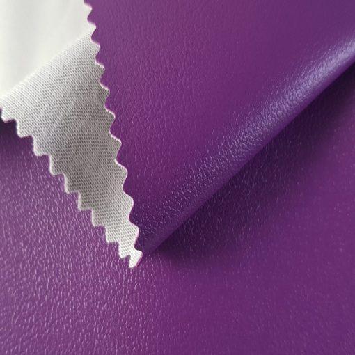 Non Plus 580-lila, extrém kopásállóságú, fertőtleníthető, színes prémium textilbőr