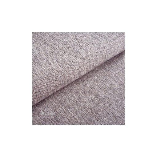 Tessero 8 - világos mályva, zseníliás felületű, puha kellemes tapintású bútorszövet