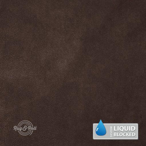 MINDELO 9 - sötétbarna, könnyen tisztítható, velúrhatású, vízlepergető bútorszövet