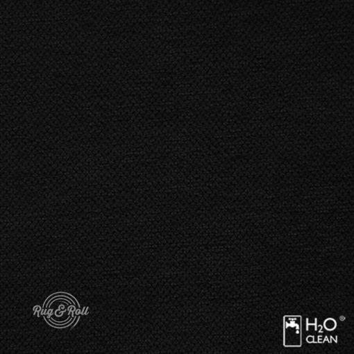 LIBERTO 18 - fekete, vízzel tisztítható bútorszövet