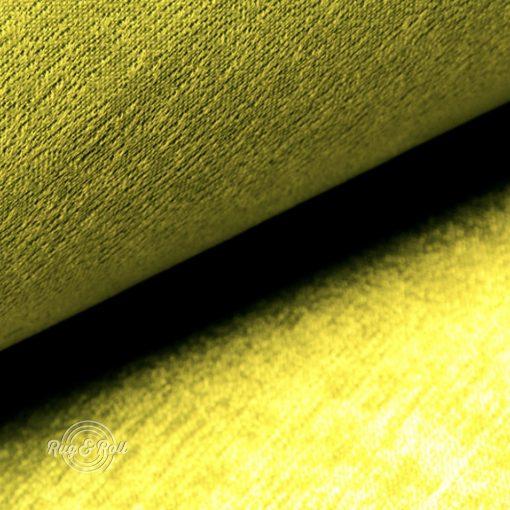 PLATINUM 38 - fényes, szatén hatású bútorszövet, sárga
