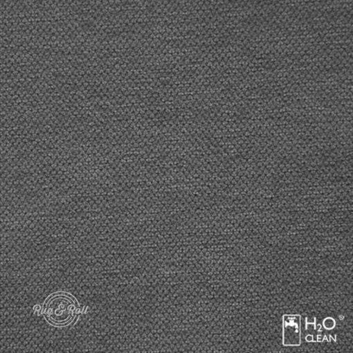 LIBERTO 16 - sötétszürke, vízzel tisztítható bútorszövet