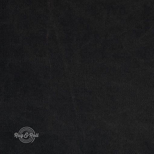 PUENTO 15 - fekete, 85% pamuttartalmú, égéskésletetett bútorszövet