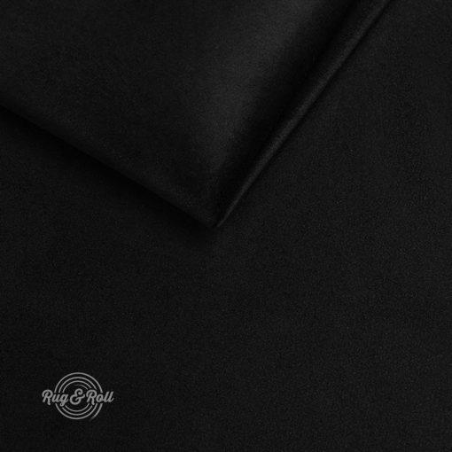 AMOR VELVET 4322 - fekete, vízlepregető prémium bútorszövet