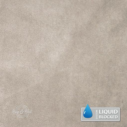 MINDELO 3 - szürkésbézs, könnyen tisztítható, velúrhatású, vízlepergető bútorszövet