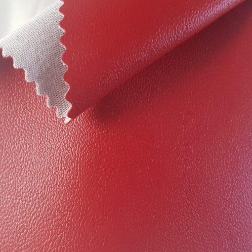 Non Plus 225-piros, extrém kopásállóságú, fertőtleníthető, színes prémium textilbőr
