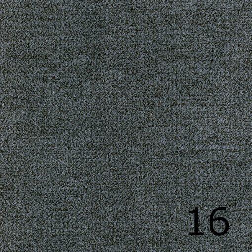 ALFA 16 - sötétszürke, puha felületű, magas kopásállóságú  bútorszövet