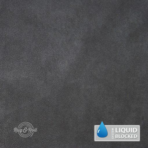 MINDELO 15 - sötétszürke, könnyen tisztítható, velúrhatású, vízlepergető bútorszövet