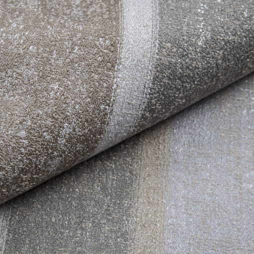 RIGATTO 4-szürke ezüsttel átszőtt, mintás, légáteresztő modern bútorszövet