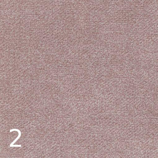 ALFA 2 - rózsaszín, puha felületű, magas kopásállóságú  bútorszövet