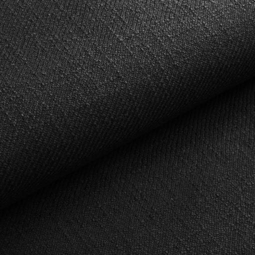 DELICATO 22 - fekete, környezetbarát modern bútorszövet