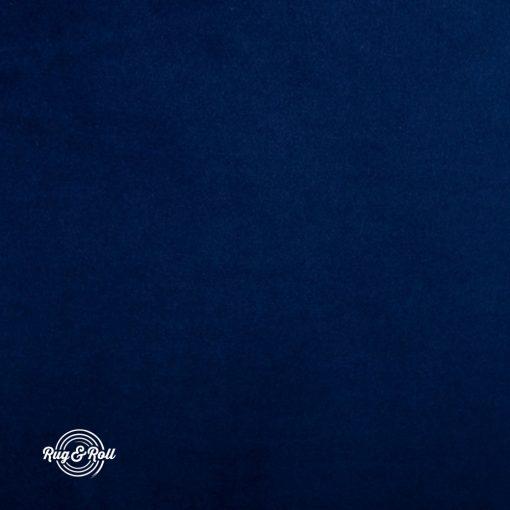 SUPER 263 - sötétkék, vízzel tisztítható prémium bársony bútorszövet