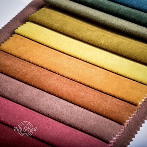 OTUSSO bársonyos bútorszövet, 25 színben